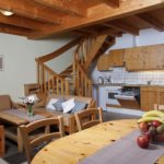 Ferienhaus Typ B Wohnraum