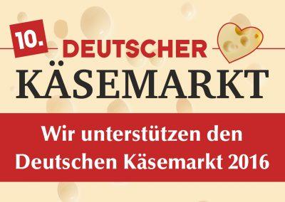 Käsemarkt 2016 Unterstützer