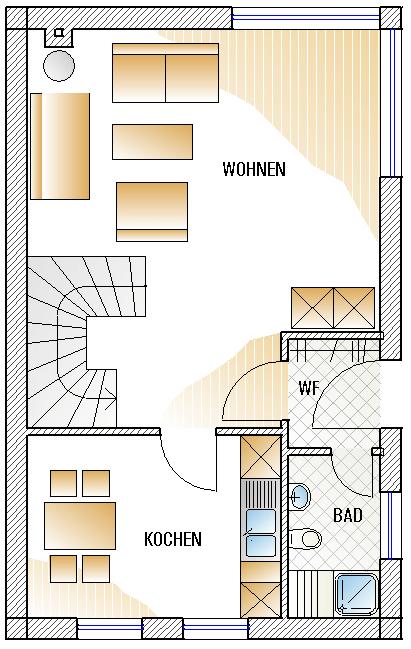 Skizze Erdgeschoss A