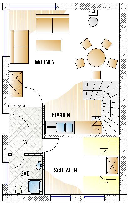 Skizze Erdgeschoss B