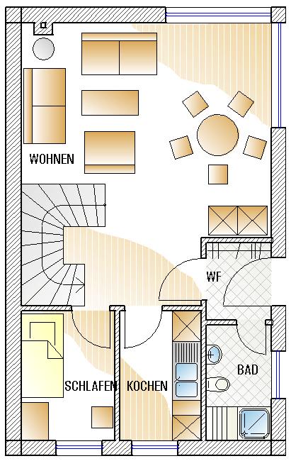 Skizze Erdgeschoss C